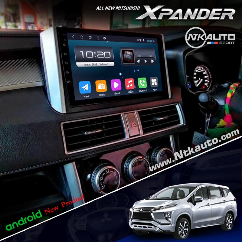 จอ Android ตรงรุ่น Mitsubishi Xpander  หน้าจอ 9 นิ้ว จอ IPS HD กระจกกันรอย 2.5D Glass